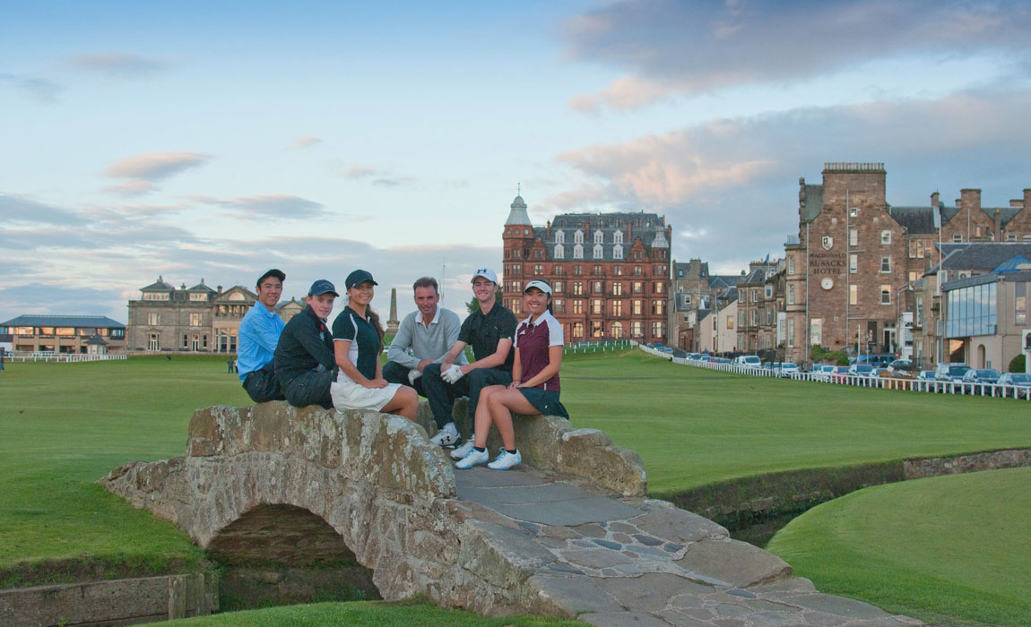 New Links youth visit is 'ultimate golfing and educational experience'